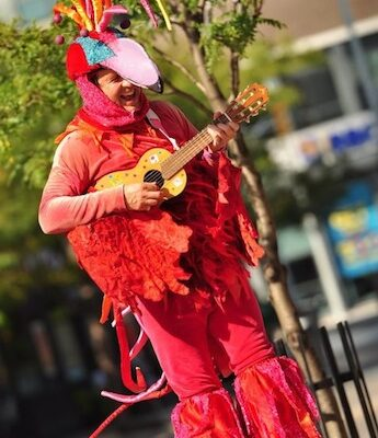 Ruffle redbird Vancouver Children's Performer