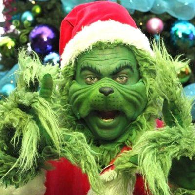 Th eGrinch Vancouver Christmas Character