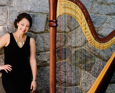Janelle Nadeau Vancouver Harpist
