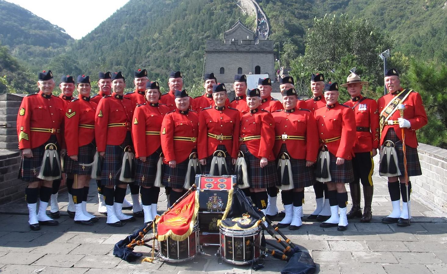RCMP E Division Pipe Band Vancouver