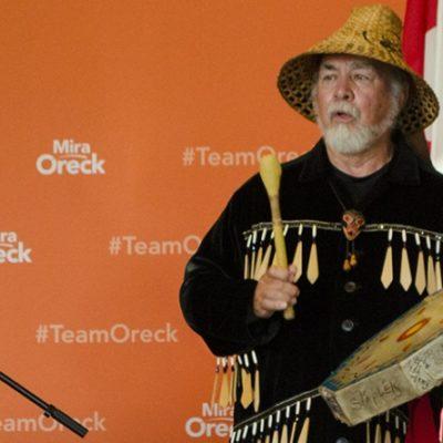 Bob Baker Talking Stick Ceremony Vancouver