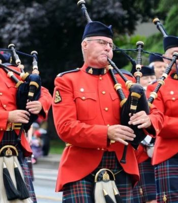 RCMP E Divsion Pipe Band Vancouver