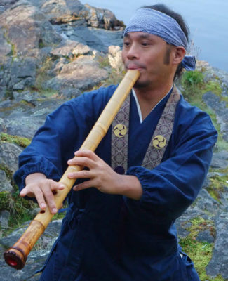 Alcvin Ramos Vancouver Japanese Flute Player