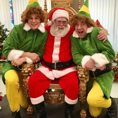 Buddy the Elf Vancouver Christmas Characters