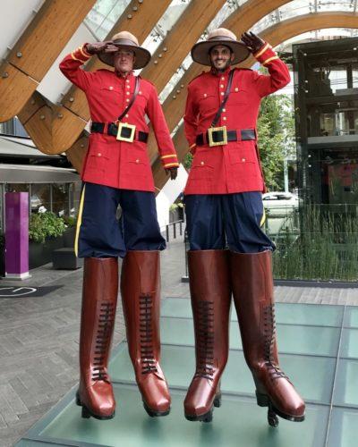 Vancouver Stilt Walkers