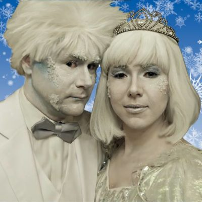 Jack Frost Vancouver Christmas Character