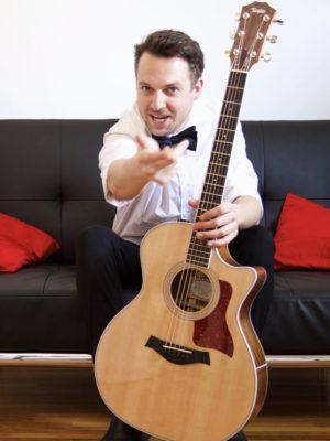 Paul Filek Vancouver Singer/Guitarist
