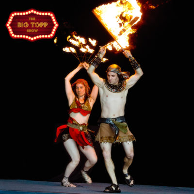 Big Topp Circus Vancouver Fire Artists