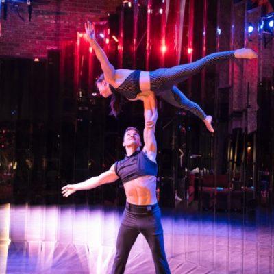 Big Top Circus vancouver hand to Hand Act