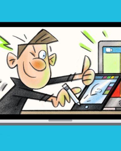 ZoomToonz Live Virtual Caricatures