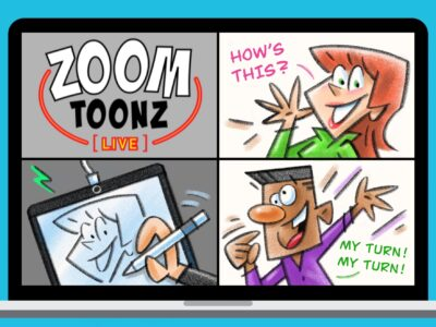 ZoomToonz Live Vancouver Virtual Caricatures